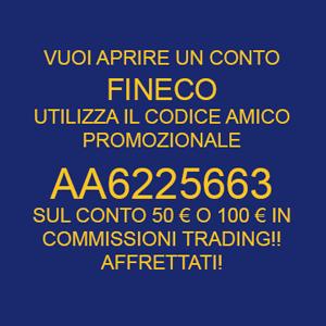 Codice amico fineco aa6225663 - La banca piu conveniente per aprire un conto corrente ...